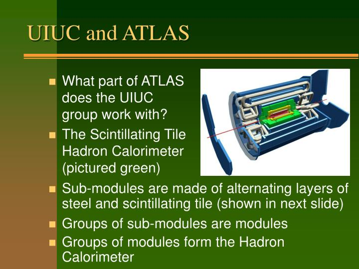 UIUC and ATLAS