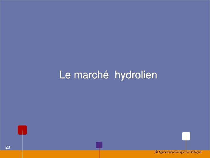 Le marché  hydrolien