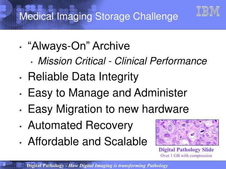 Medical Imaging Storage Challenge
