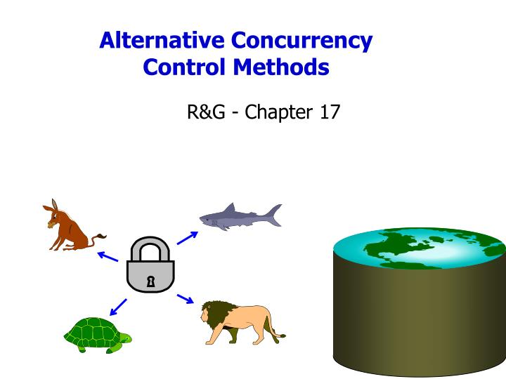 Alternative concurrency control methods