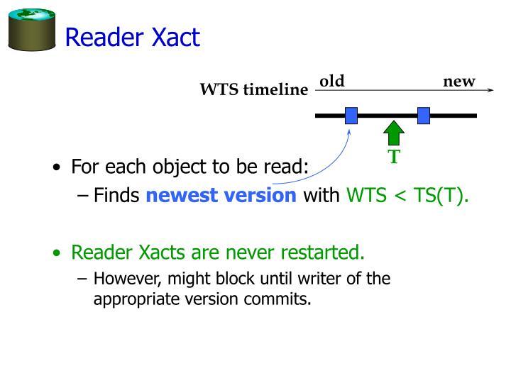 Reader Xact
