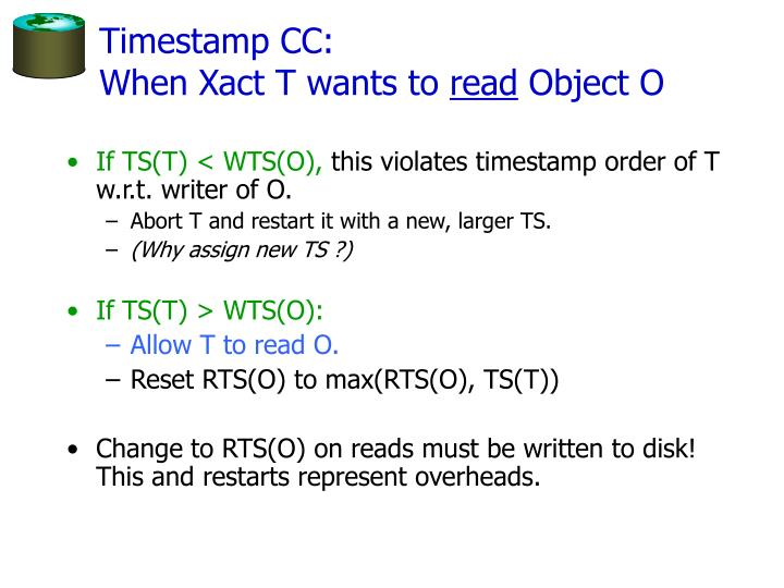 Timestamp CC: