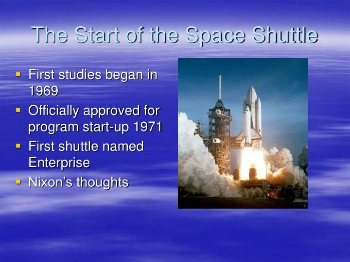 how did the space shuttle program began - photo #2