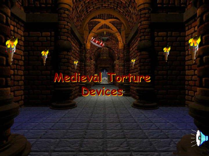 Medieval Torture Devices