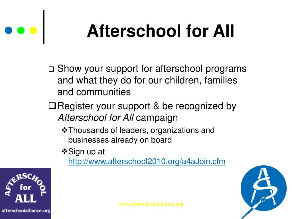 Afterschool for All