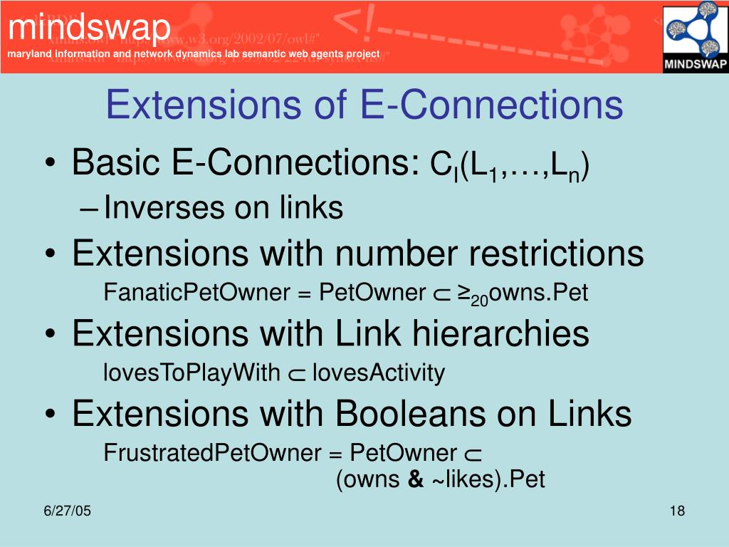 Extensions of E-Connections