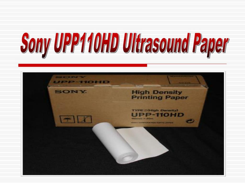 Sony UPP110HD Ultrasound Paper