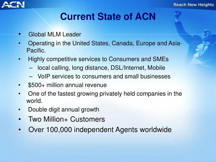 Current State of ACN