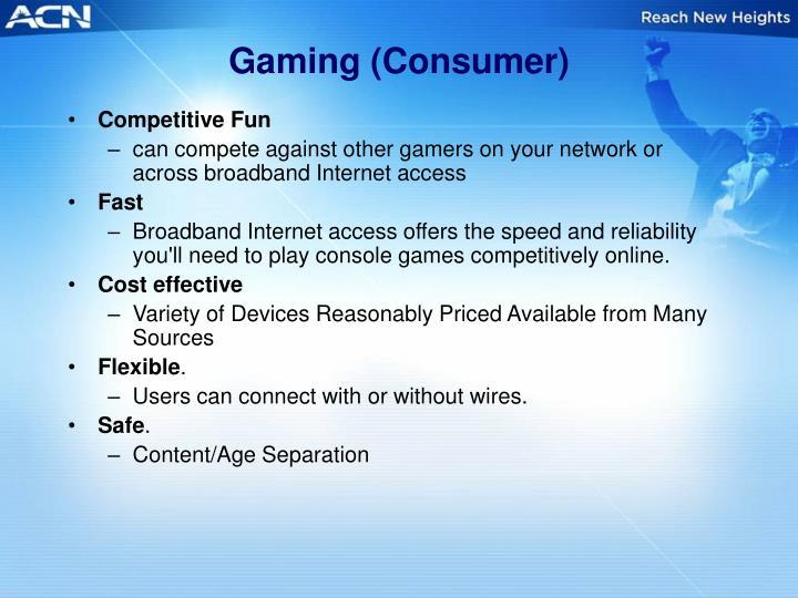 Gaming (Consumer)