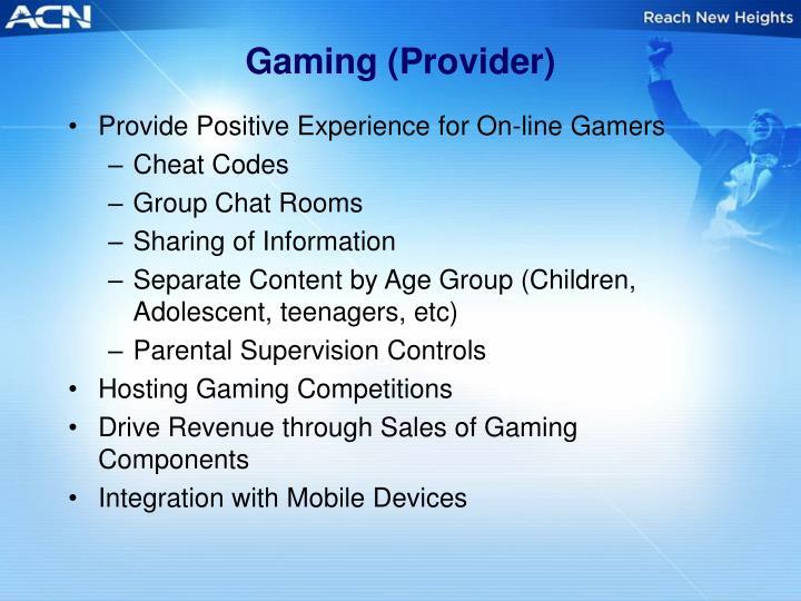 Gaming (Provider)