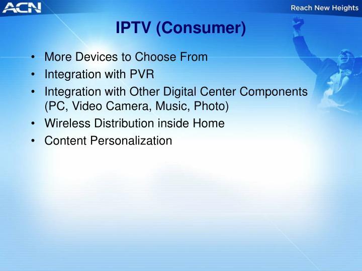 IPTV (Consumer)