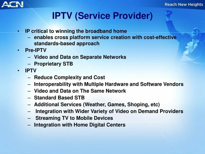 IPTV (Service Provider)