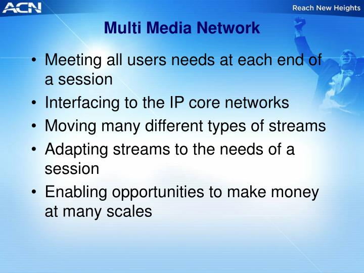 Multi Media Network