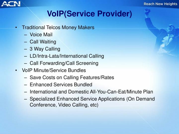 VoIP(Service Provider)