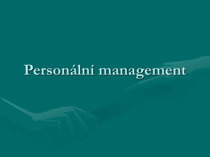 Person ln management
