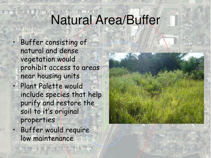 Natural Area/Buffer