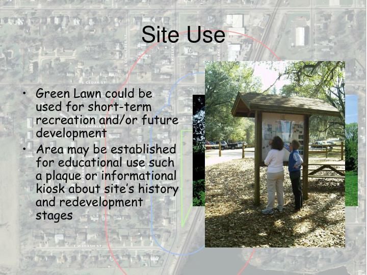 Site Use