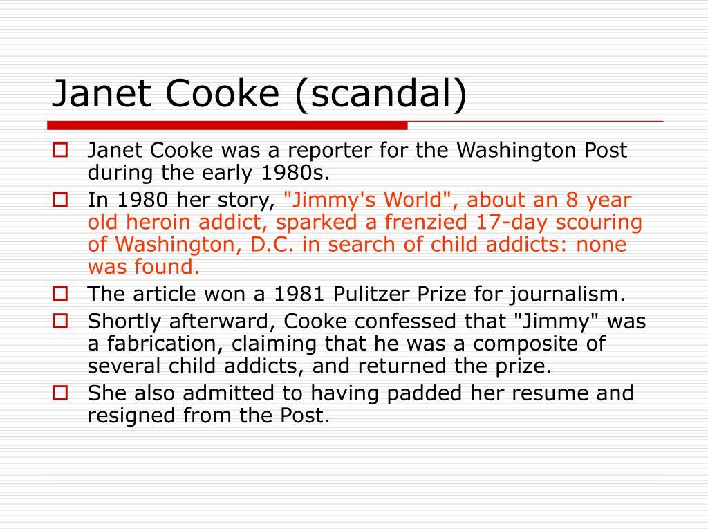 Janet Cooke (scandal)