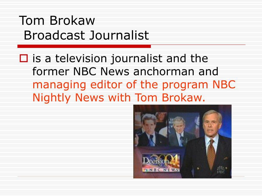 Tom Brokaw