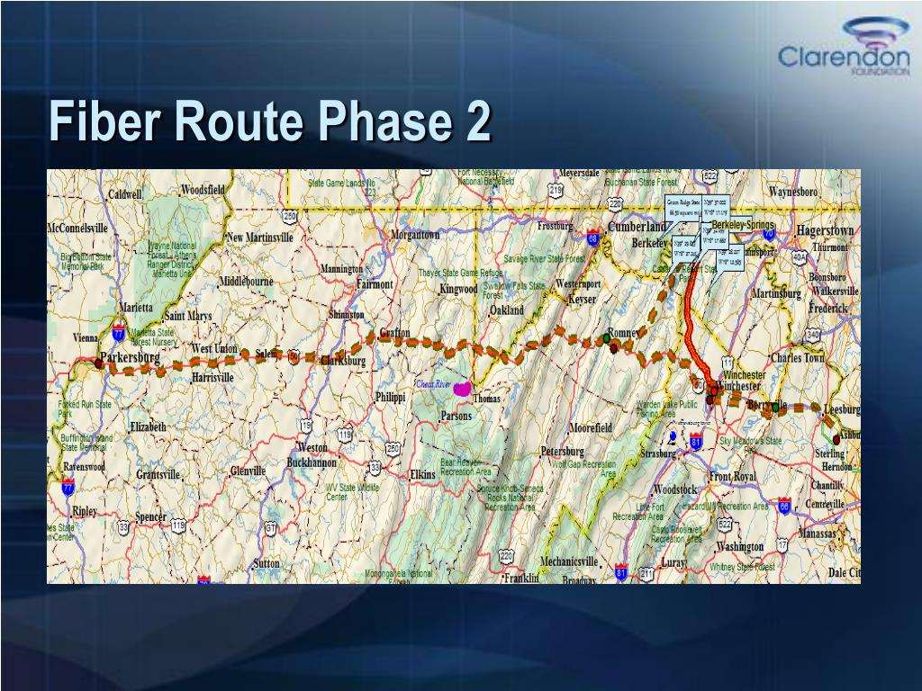 Fiber Route Phase 2