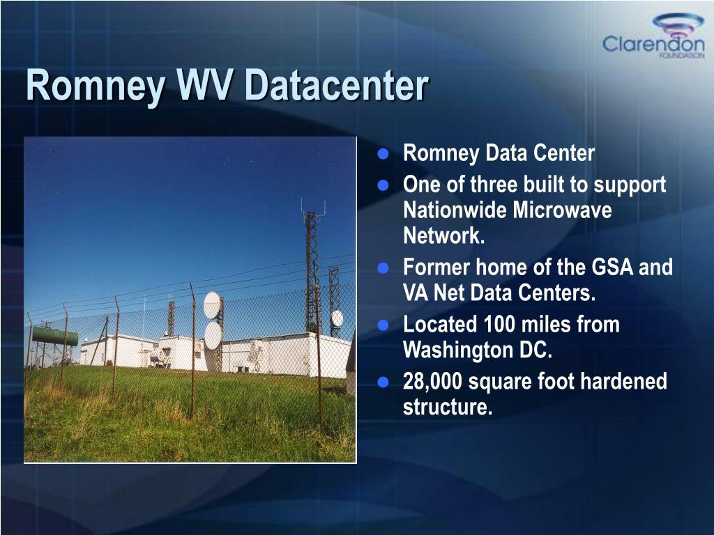 Romney WV Datacenter
