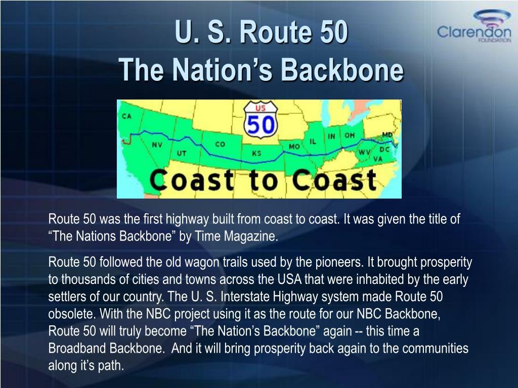 U. S. Route 50
