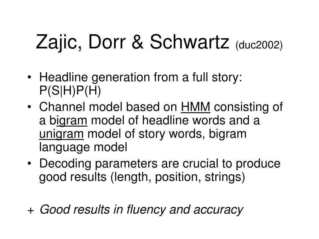 Zajic, Dorr & Schwartz