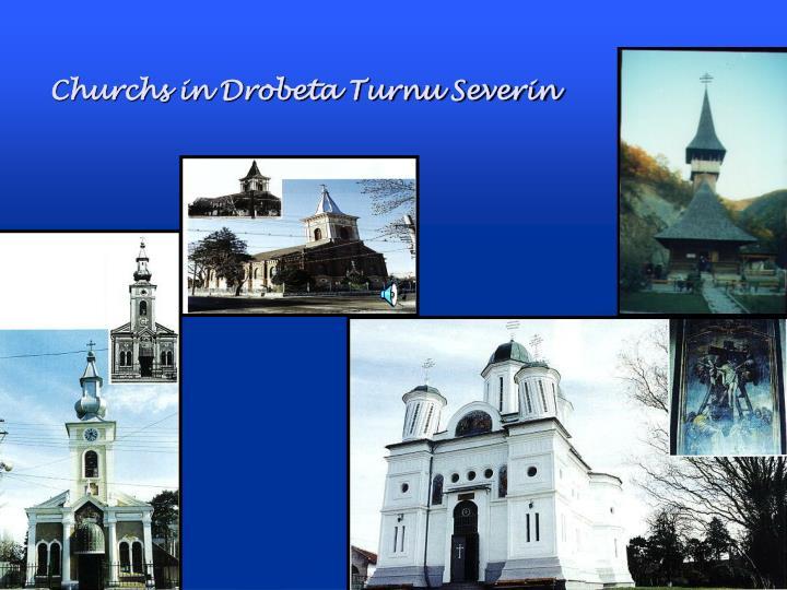 Churchs in Drobeta Turnu Severin