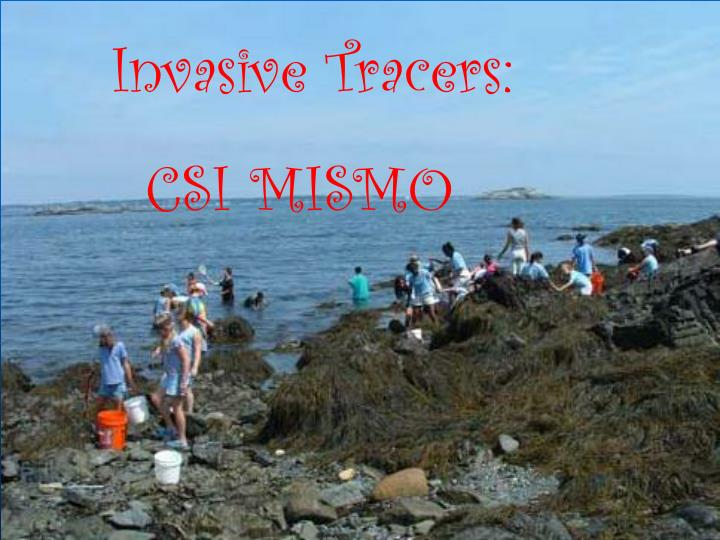 Invasive Tracers: