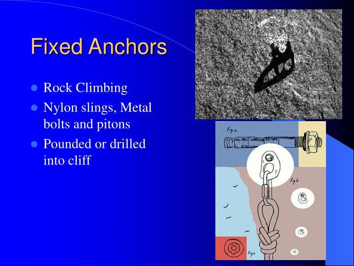 Fixed Anchors