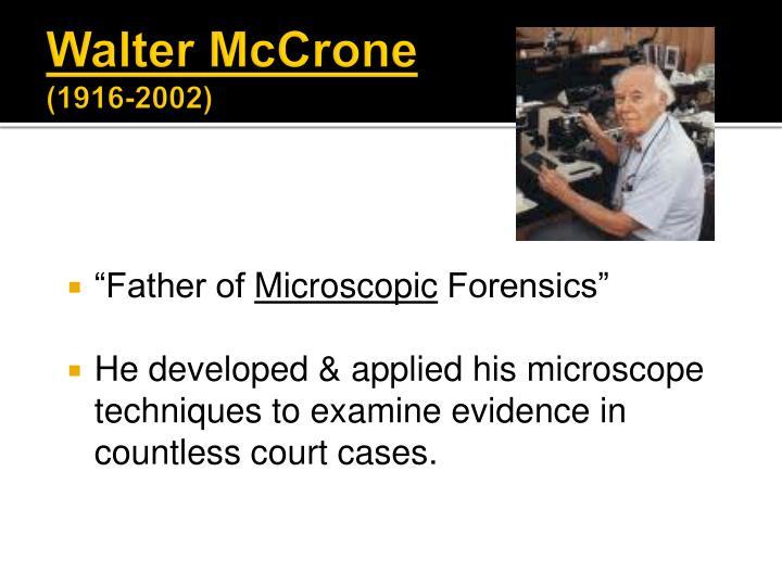 Ppt Criminalistics Powerpoint Presentation Id 1367121
