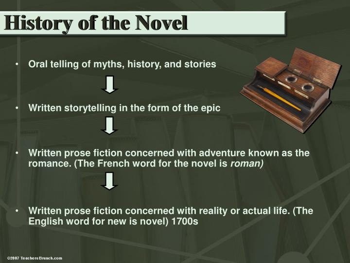 History of the Novel