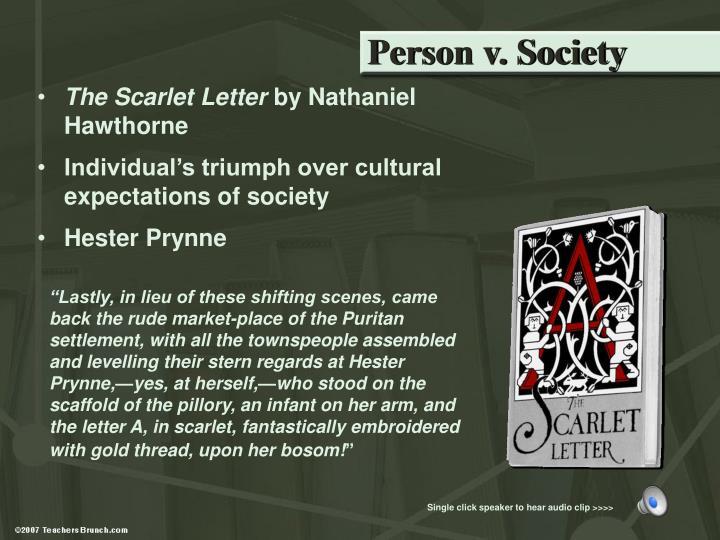 Person v. Society