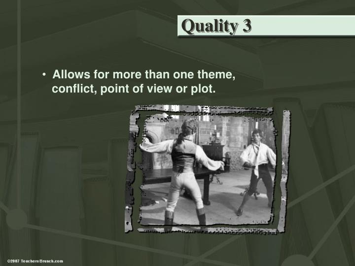 Quality 3