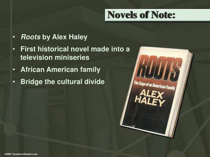 Novels of Note: