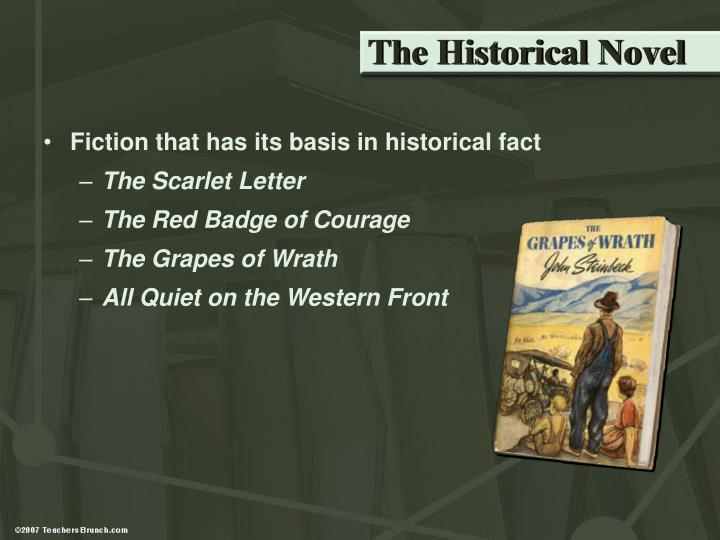 The Historical Novel