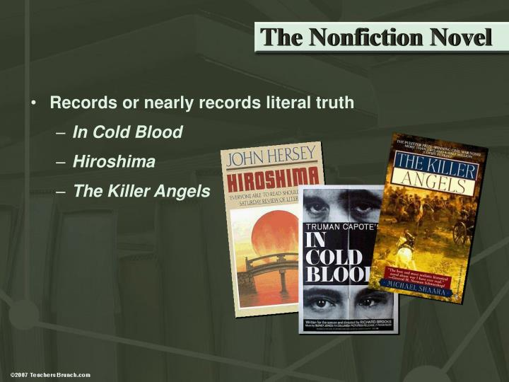 The Nonfiction Novel