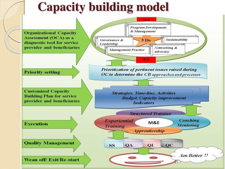 Capacity building model