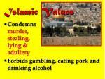 islamic values1