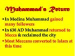 muhammad s return