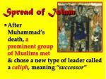 spread of islam1