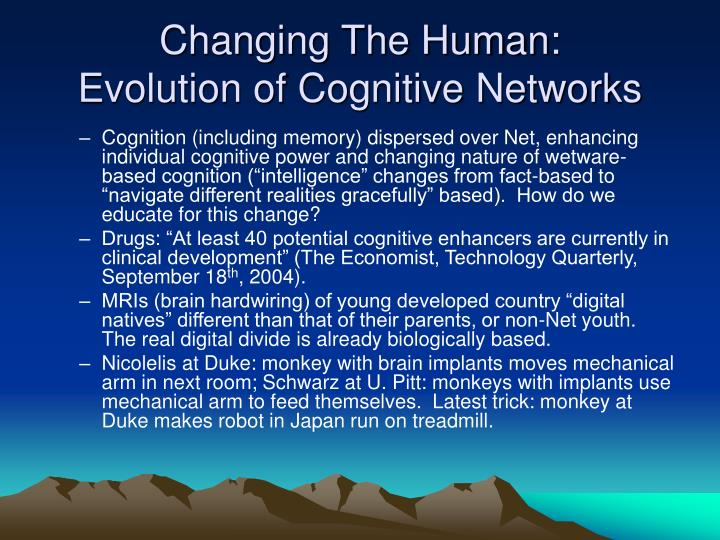 Changing The Human: