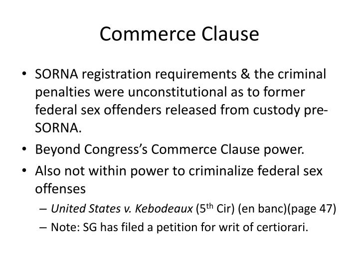 Commerce clause1