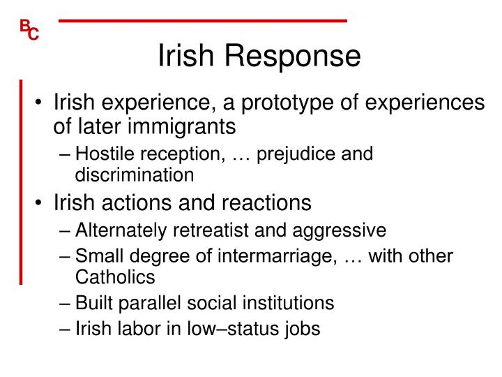 Irish Response
