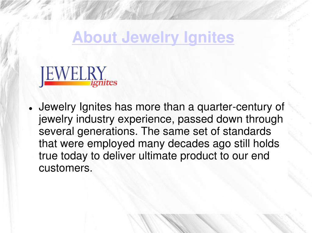 About Jewelry Ignites