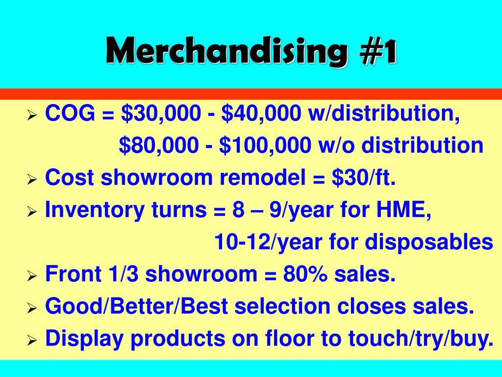 Merchandising #1