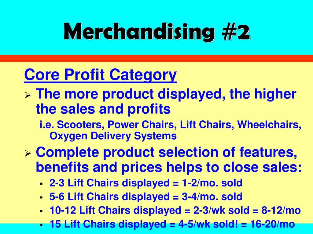 Merchandising #2