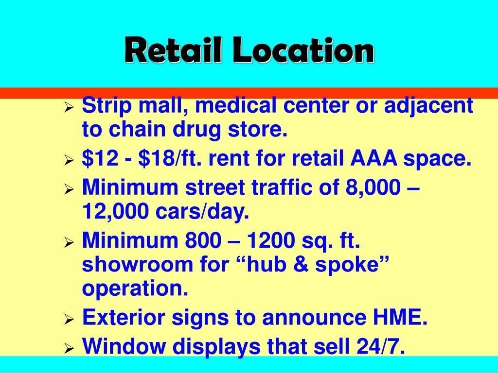 Retail Location