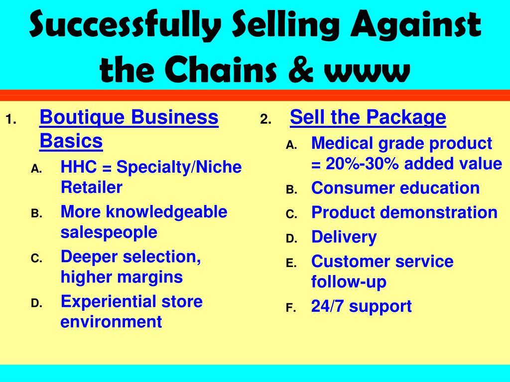 Boutique Business Basics