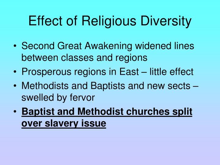 Effect of Religious Diversity